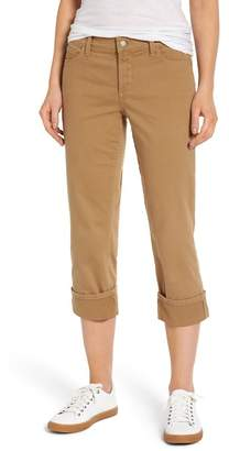 NYDJ Dayla Colored Wide Cuff Capri Jeans