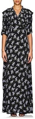 By Ti Mo byTiMo Women's Lilac-Print Crepe Wrap Dress