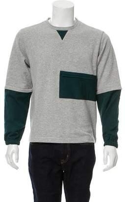 Marni Colorblock Crew Neck Sweatshirt