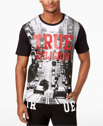True Religion Men's Cityscape Graphic T-Shirt