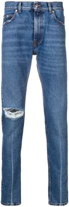 Paura ripped skinny jeans