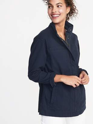 Old Navy Canvas Field Jacket for Women