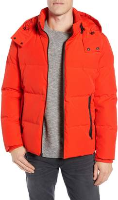 Cole Haan Hooded Puffer Jacket