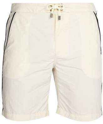 Solid & Striped The Boardshort Swim Shorts - Mens - White Multi
