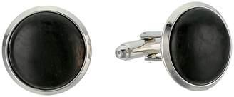 Cufflinks Inc. Black Stain Wood Cufflinks Cuff Links