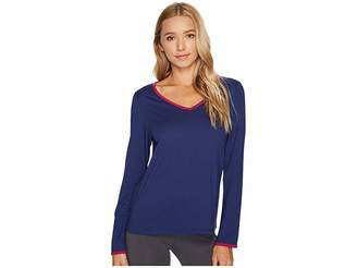 Jockey Cotton Jersey Long Sleeve Top Women's Pajama