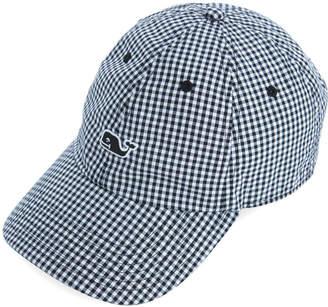 Vineyard Vines Womens Gingham Baseball Hat