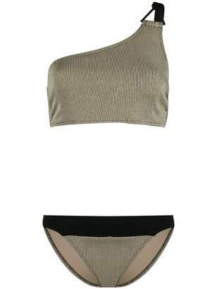 Demeter Zeus+Dione one-shoulder bikini set