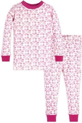 Burt's Bees Stitched with Love Organic Toddler Pajamas