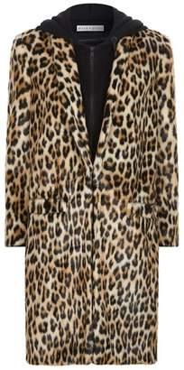 Alice + Olivia Kylie Hoodie Long Coat