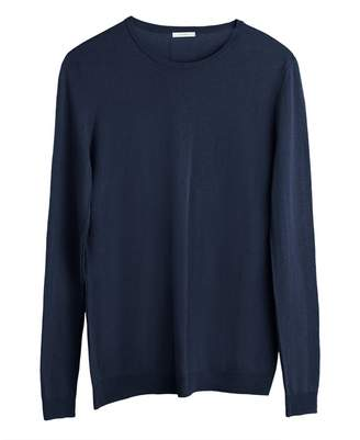 Cuyana Cotton Cashmere Crewneck Sweater