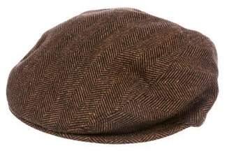 Dolce & Gabbana Wool & Silk-Blend Newsboy Hat