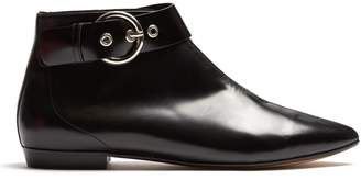 Isabel Marant Rilows point-toe leather ankle boots