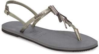 Havaianas You Riviera Embellished Sandal