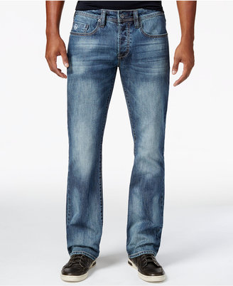 Buffalo David Bitton Men's King-X Slim Fit Bootcut Stretch Jeans, A Macy's Exclusive Style $99 thestylecure.com