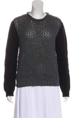 Yigal Azrouel Cut25 by Wool Colorblock Sweater