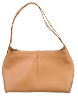 Tod's Leather D-Styling Hobo Tan Leather D-Styling Hobo
