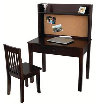 Kid Kraft Pinboard Kids Desk with Chair and Hutch