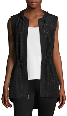 Embroidered Eyelet Vest $88 thestylecure.com