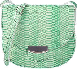 Celine Trotteur Small Snake-Embossed Shoulder Bag