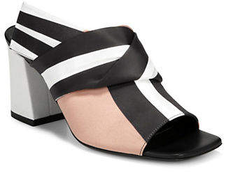 Via Spiga Elly Satin Sandals