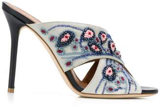 Malone Souliers Priscilla beaded mules