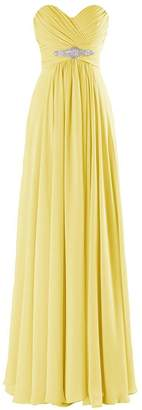 VaniaDress Women Sweetheart Long Bridesmaid Dress Evening Prom Gowns V005LF US