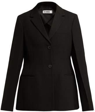 Jil Sander Gerini Single Breasted Jacket - Womens - Black