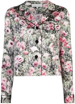 Fleur Du Mal poppy printed jacket
