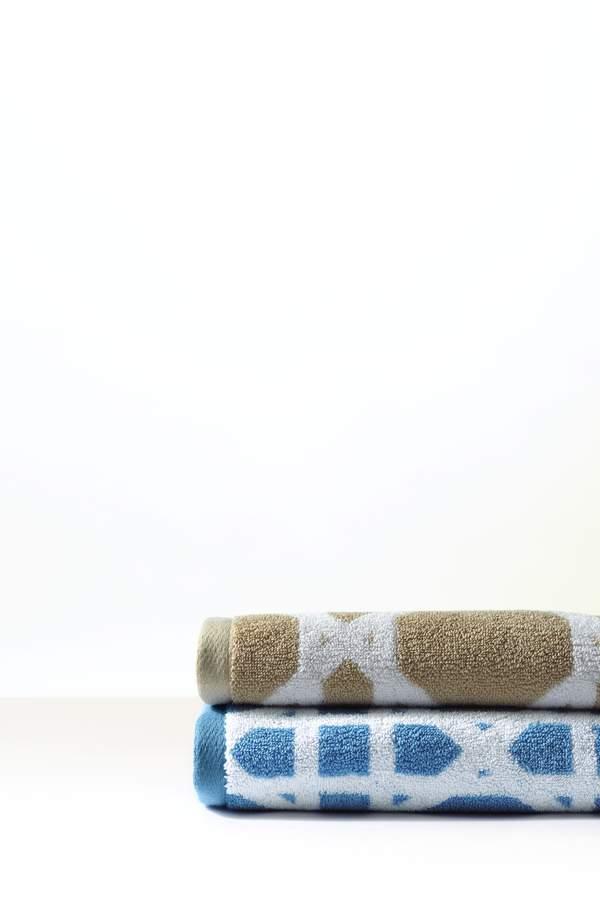 Lands'end Supima Cane Weave Washcloths (Set of 2)