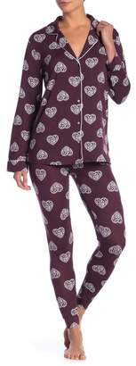 Shimera Easy Knit Pajama 2-Piece Set
