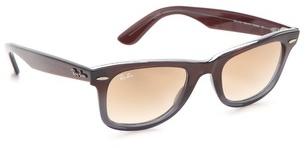 Ray-ban Transparent Wayfarer Sunglasses