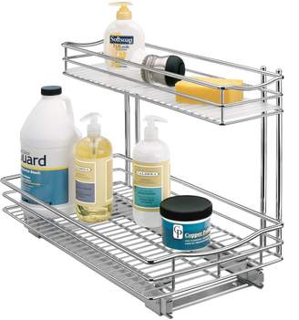 """Lynk Professional Roll-Out Cabinet Under-Sink Drawers, 11.5"""" x 18"""" x 14"""""""