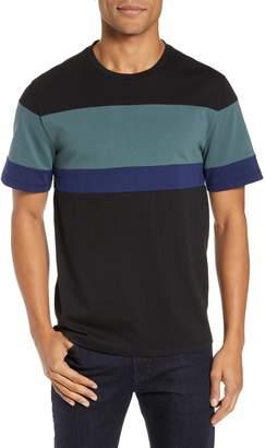 Vince Colorblock Crewneck T-Shirt