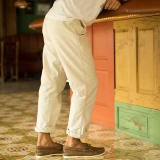 Madda Fella Oxford Cross Dye Roll Up Pant