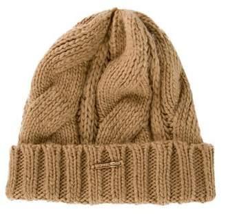 MICHAEL Michael Kors Woven Rib-Knit Beanie