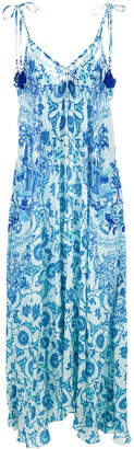 Rococo Sand Oriental all-over print dress