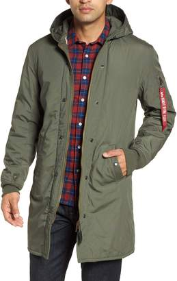 Alpha Industries M-47 Faux Shearling Reversible Jacket