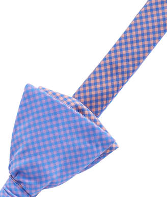 Vineyard Vines Two Tone Gingham Bow Tie