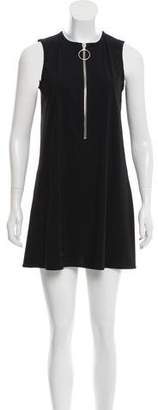 Karla Colletto Sleeveless Mini Dress