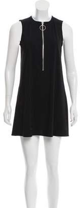 Karla Colletto Sleeveless Mini Dress
