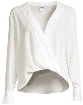 LIKELY Mimi Wrap Front Top