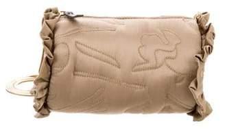 Rachel Comey Quilted Satin Crossbody Bag