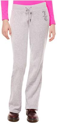 Juicy Couture Jc Luxe Crystals Velour Del Rey Pant