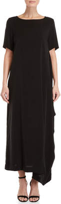Pierantonio Gaspari Short Sleeve Maxi Dress