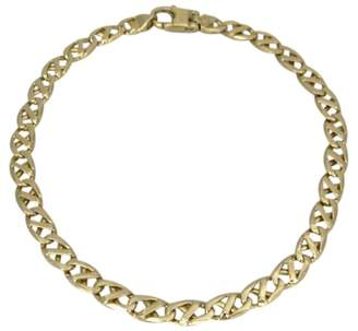 Gucci 14K Yellow Gold Modified Mariner Link Chain Bracelet