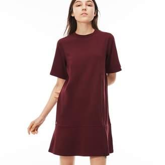 Lacoste (ラコステ) - インターロック ジップ スウェットシャツドレス