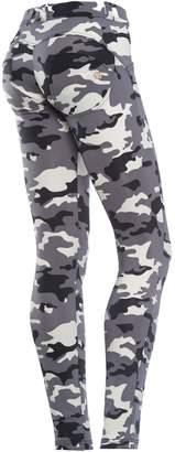 Freddy WR.UP® D.I.W.O® Fabric Regular Rise Skinny - Camo (, L)