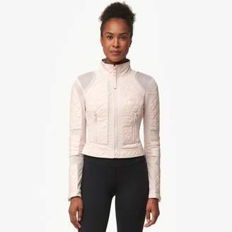 Blanc Noir Leather Mesh Moto - Women's