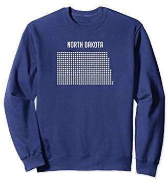 Dakota North Silhouette State Dots Sweatshirt
